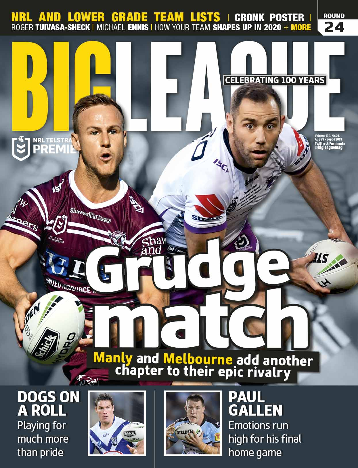 Big League 2019 Round 24