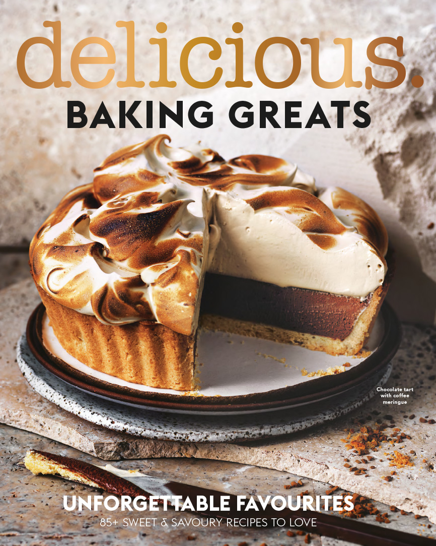 DELICIOUS Baking Greats Book