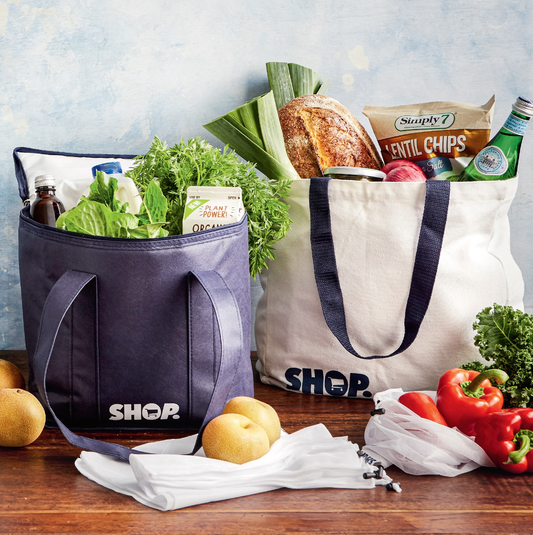 TCA Shop Branded Shopping Bag Set