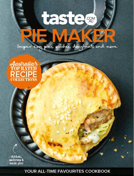 Taste Pie Maker Cookbook Magazine Subscription Magsonline