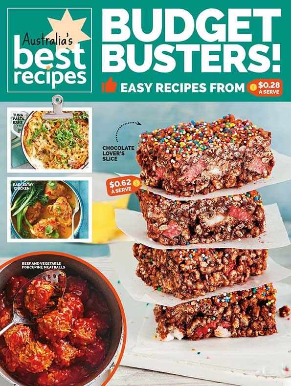 Australian Best Recipes – Budget Busters